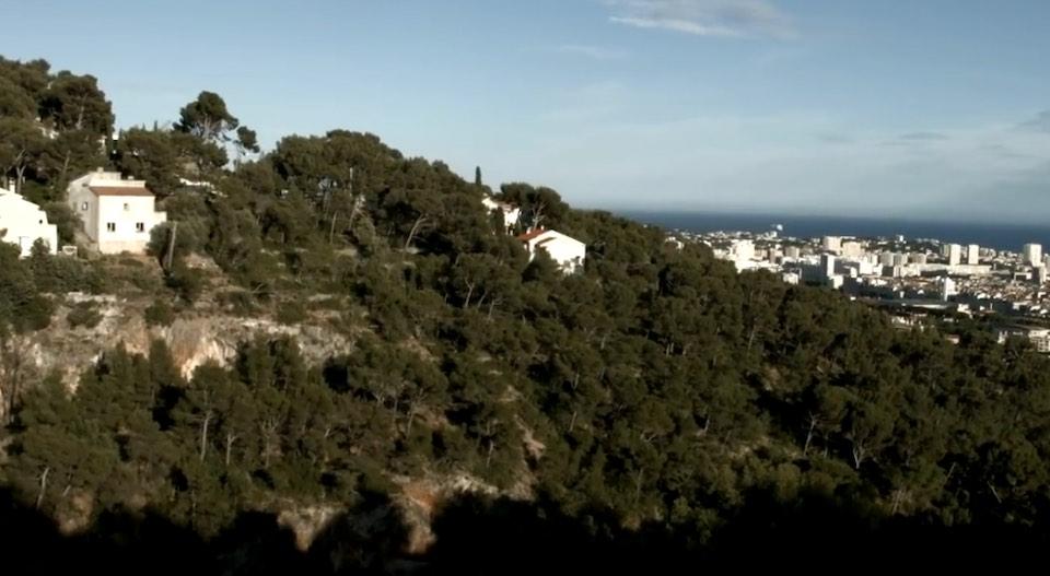 vue sur la ville de Toulon