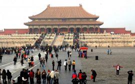 Arrivée à Pékin en Asie du sud Est