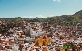 vue d'un voyage au mexique